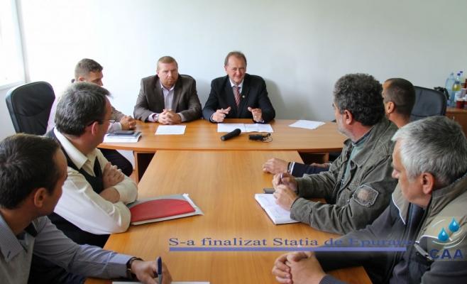 Compania de Apă ARIEŞ a preluat Staţia de Epurare de la Câmpia Turzii