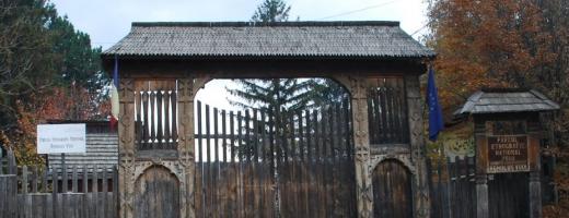 Parcul Etnografic poate fi furat lejer lunea. Nu există nici măcar un paznic!
