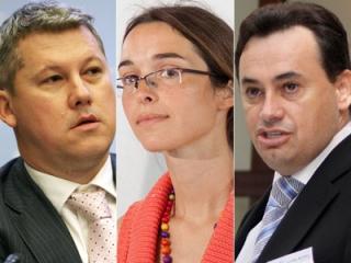 Prezidenţiabilii PDL şi-au prezentat proiectele: Falcă vrea dreapta unită, Predoiu critică USL, iar Creţu vrea educaţie