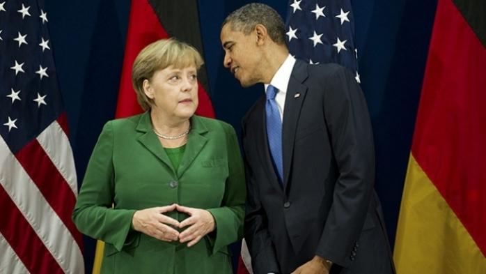 Angela Merkel şi Barack Obama
