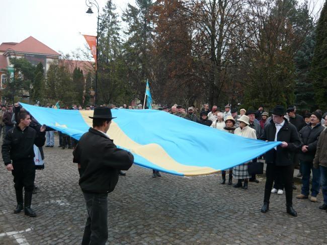 Miting de solidaritate cu marşul secuimii, la Budapesta