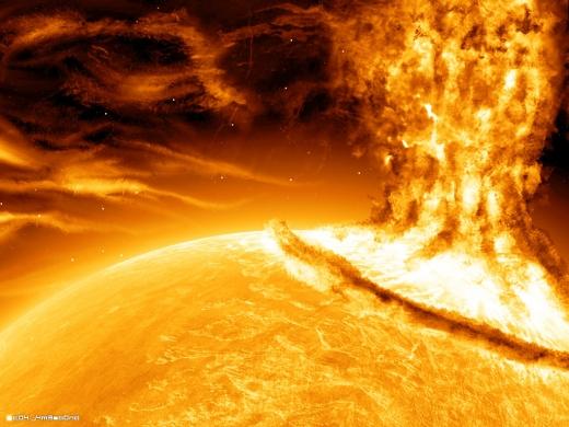 O explozie solară de clasă maximă s-a produs ieri!