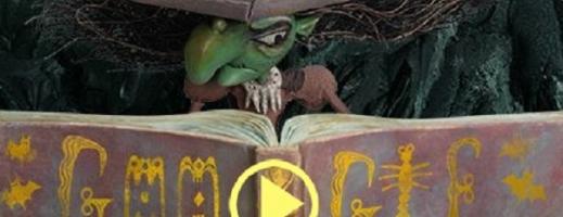 GOOGLE marchează Halloween-ul printr-un DOODLE interactiv