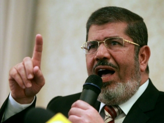 Mohamed Morsi a sosit la proces