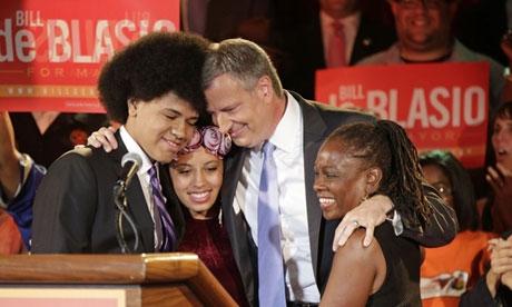 Bill de Blasio este noul primar al New York-ului