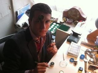 Paul Turc, un student  clujean pasionat de ceasuri