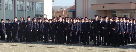 160 de viitori polițiști au depus astăzi jurământul