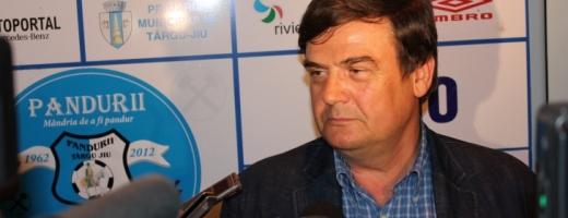 Marin Condescu, presedintele clubului Pandurii Targu Jiu - sursa foto: realitatea.net