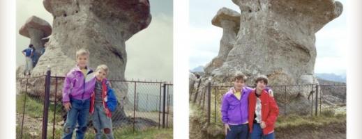 Doi frați recreat fotografiile din copilărie, după 20 de ani