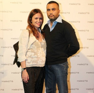 Maria Marinescu si sotul sau Frank Colin