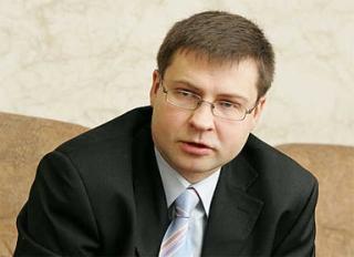 Premierul Letoniei, Valdis Dombrovski