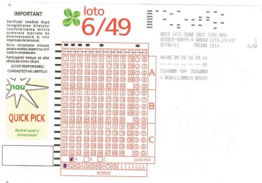 Cine este câştigătorul marelui premiu de 2 mil. euro la Loto?