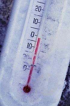 Minus 15 grade Celsius, cea mai scăzută temperatură din țară