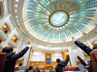 Parlamentul a votat toate articolele și anexele proiectului de lege a bugetului de stat pe 2014
