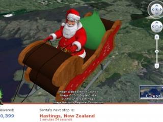 Google și Microsoft, pe urmele lui Moș Crăciun