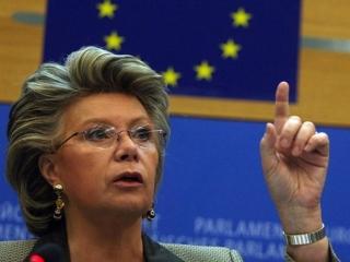 vicepreşedintele CE Viviane Reding