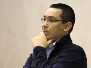 Prim-ministrul Victor Ponta