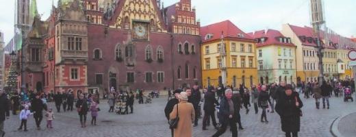 FOTO: Cum arată Wroclaw, orașul piticilor, care va fi capitala culturală europeană în 2016