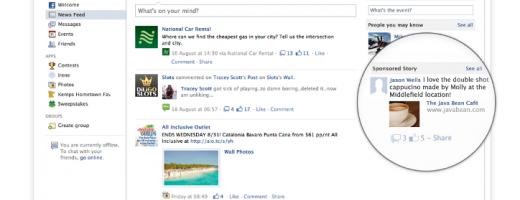 Facebook renunţă la Sponsored Stories