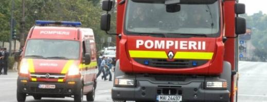 Tragedie în Sângeorz-Băi: O femeie a murit după ce s-a aruncat de la etaj pentru a scăpa dintr-un incendiu
