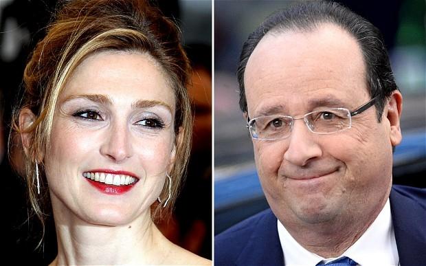 Relaţia lui François Hollande cu Julie Gayet durează de doi ani