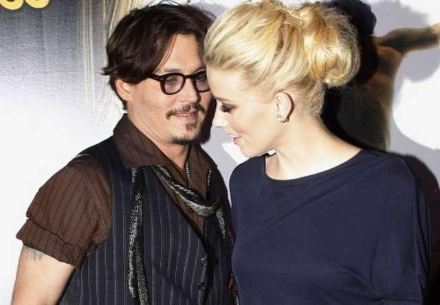 Johnny Depp şi Amber Heard