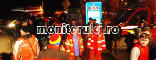 Salvamont Cluj: Am fost anunţaţi ultimii despre accident