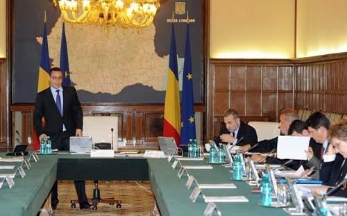 Guvernul Ponta a dat un tun de zile mari