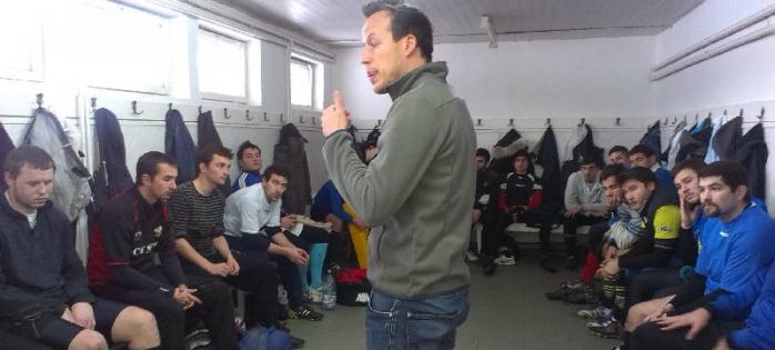 Lecții de la un profesionist pentru rugbiștii de la U Cluj!
