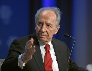 Președintele israelian Shimon Peres