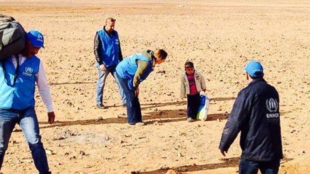 Copil de 4 ani, găsit în mijlocul deşertului Iordaniei