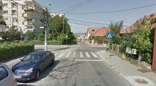 ZORILOR Pericol pentru pietoni pe strada Zorilor