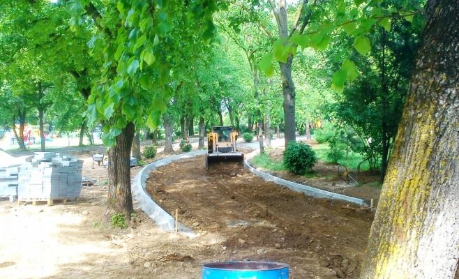 Parcul Babeş va fi asfaltat, iar copacii vor fi tăiaţi