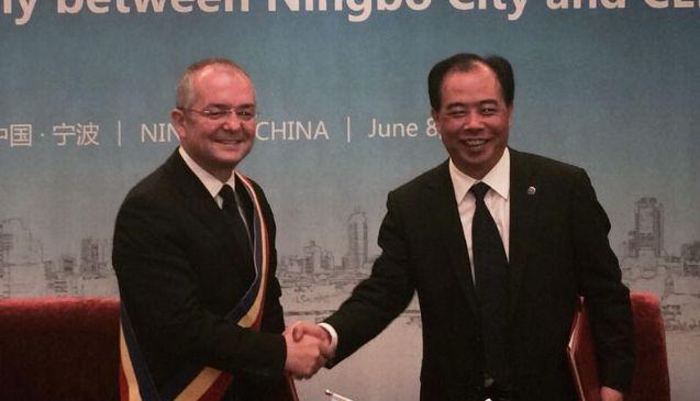 Cluj-Napoca va colabora cu oraşul Ningbo din China