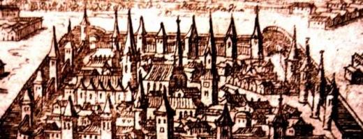 Cluj 1660 în faţa Poarta Podului