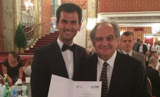 """Dan Vodnar, premiat """"Danubius Young Scientist Award 2014"""""""