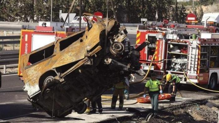 Opt români au murit într-un accident rutier în Spania. Sursă foto: Realitatea.net