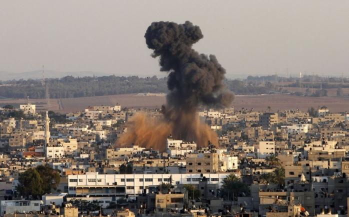 Explozie în Fâșia Gaza