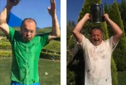 Politicienii se joacă de-a Ice Bucket