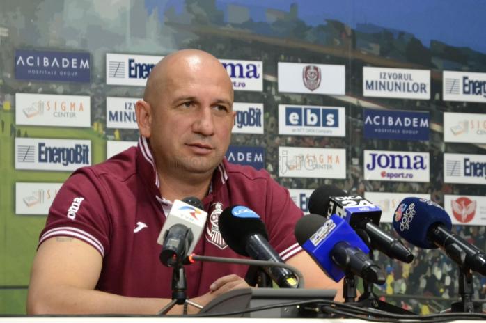 Vasile Miriuță, antrenorul CFR Cluj