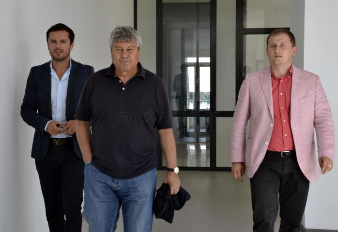 Mircea Lucescu, Vlad Munteanu și Radu Rațiu