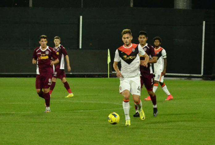 Cătălin Carp a jucat 20 de minute pentru Șahtior Donețk împotriva CFR Cluj