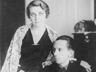 Magda şi Joseph Goebbels. Sursă foto: Wikipedia