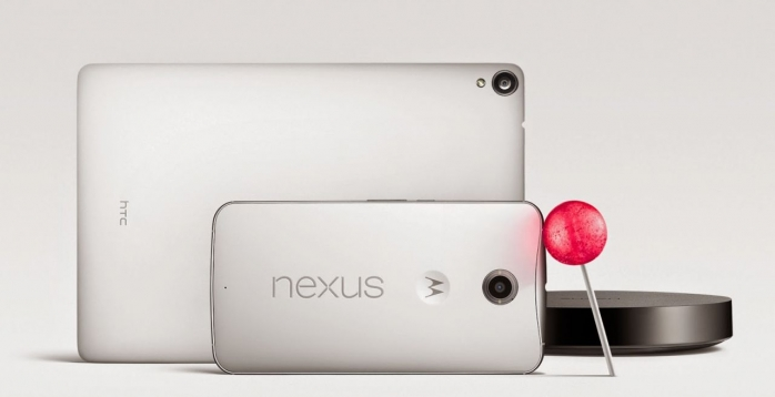 Telefonul Nexus 6 şi tableta Nexus 9Sursă foto: ibtimes.co.uk