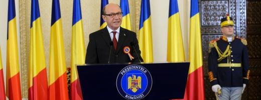 Preşedintele României Traian Băsescu
