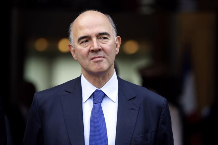 Foto: Comisarul pentru Afaceri Economice, Pierre Moscovici