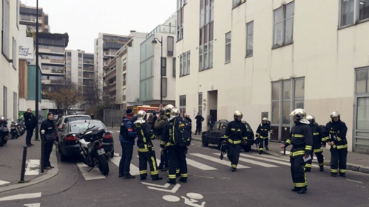 Atacul armat de la Charlie Hebdo din Paris. Sursă foto: Ynews.com