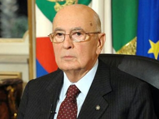 Preşedintele italian Giorgio Napolitano. Sursă foto: Wikipedia