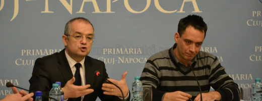 Emil Boc şi Csomo Botond