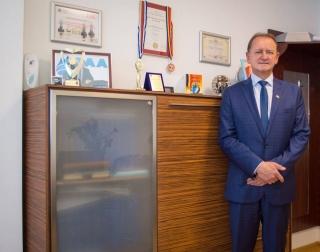 Cristian Octavian Matei, directorul general al Companiei de Apă Arieş